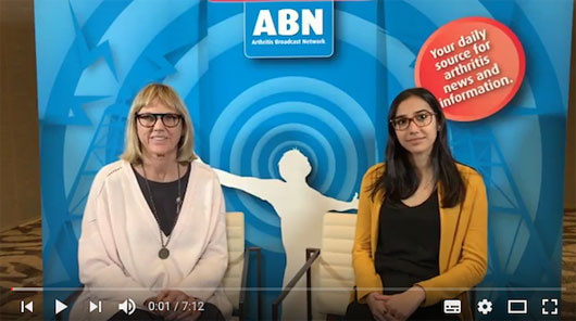 Interviews from the 2018 #CRArthritis Facebook and Twitter