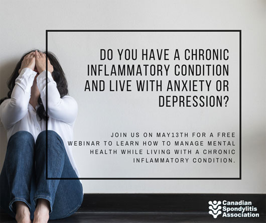 Upcoming Mental Health Webinar from The Canadian Spondylitis Association (CSA)