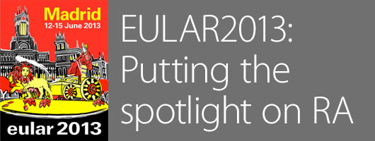 JointHealth™ monthly summer 2013 - EULAR 2013: Putting the spotlight on RA