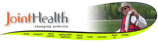 Joint Health website